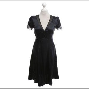 Marc Jacobs Black Silk Dress Size 12